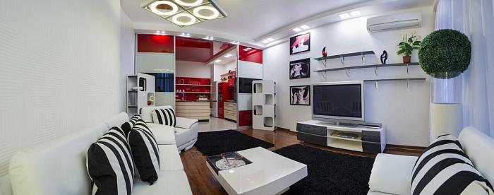 3-комнатная квартира посуточно в Одессе. Приморский район, Гагаринское Плато, 5\3. Фото 1