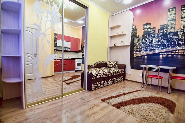 1-комнатная квартира посуточно в Львове. Галицкий район, ул. Пантелеймона Кулиша, 42. Фото 1