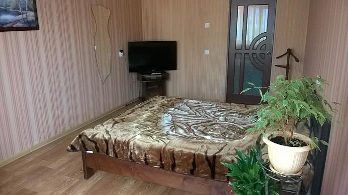 1-комнатная квартира посуточно в Чернигове. Деснянский район, ул. Пухова, 132. Фото 1